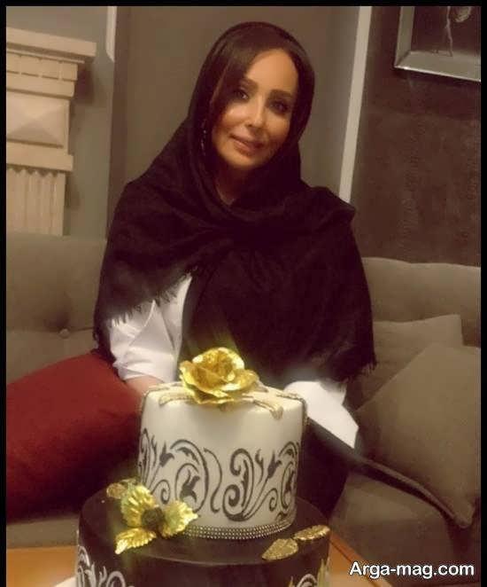 عکس های جالب جشن تولد چهل و دو سالگی پرستو صالحی