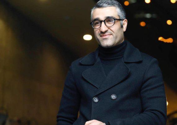 پژمان جمشیدی بازیکن فوتبال سابق و بازیگر سینما و تلویزیون کنونی