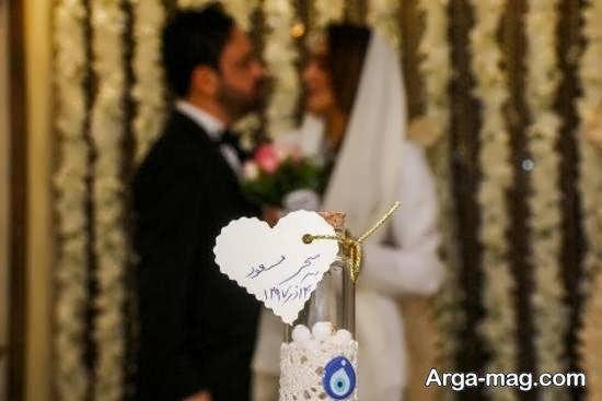 تبریک سحر صباغ سرشت به همسرش به مناسبت سالگرد ازدواجشان