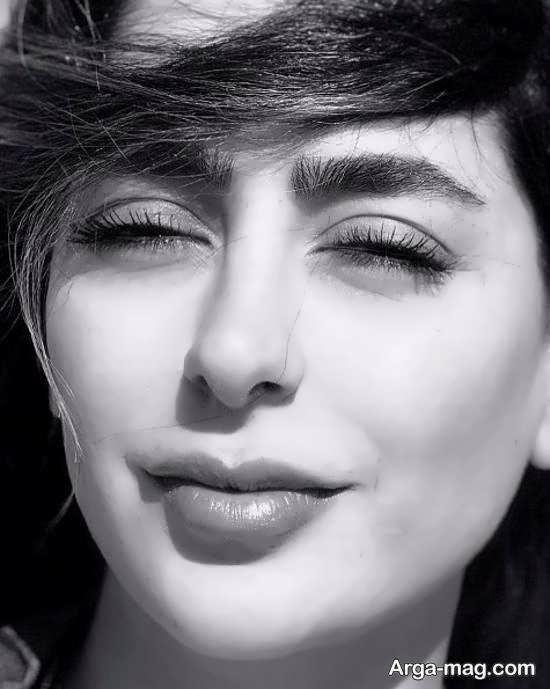 دو عکس متفاوت از چهره سمانه پاکدل بازیگر ایرانی