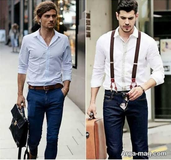 هماهنگی شلوار جین مردانه با بقیه لباس ها
