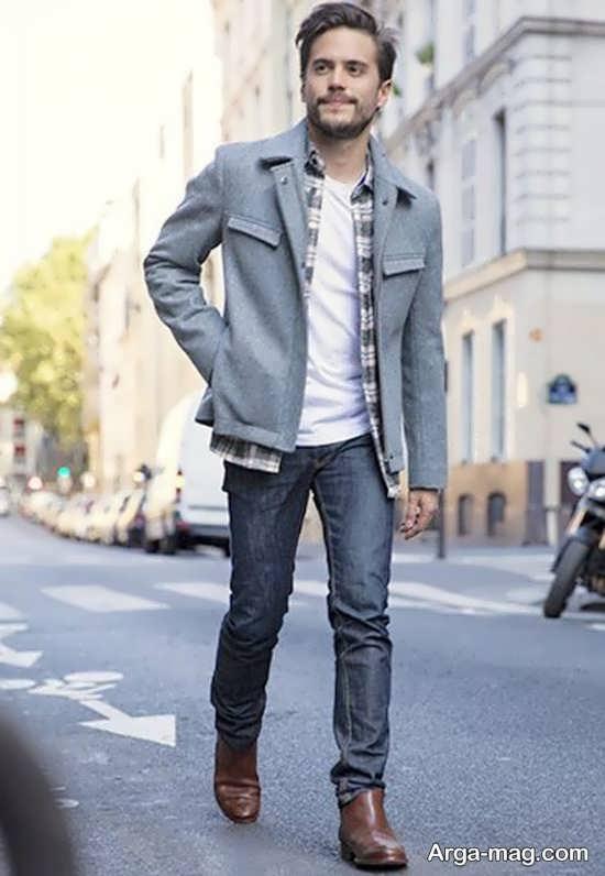 ست کردن شلوار جین مردانه+تصویر