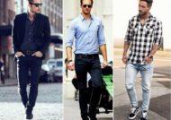 ست کردن شلوار جین مردانه