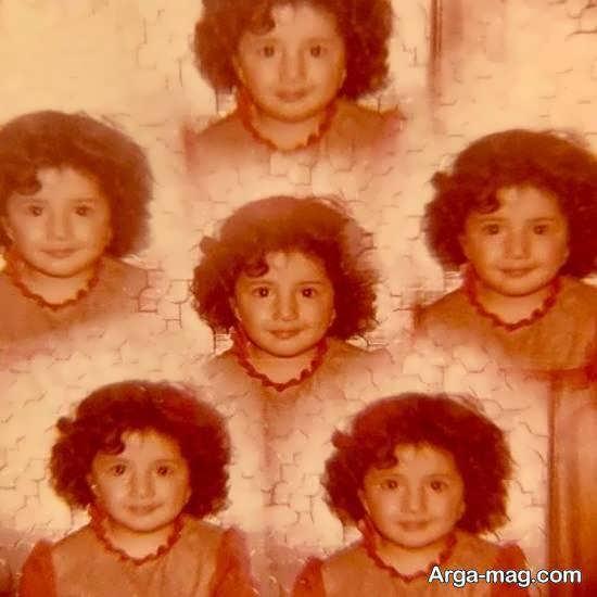 عکسی از چهار سالگی شبنم قلی خانی بازیگر