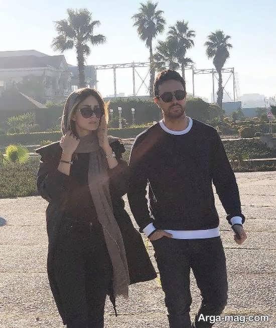 تبریک گفتن شاهرخ استخری در فضای مجازی به تولد همسرش