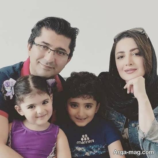 انتشار عکسی جذاب از خانواده چهار نفره شیلا خداداد