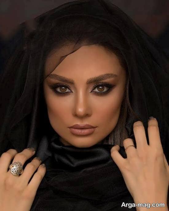تصاویر متفاوت و جذابی از چهره یکتا ناصر به عنوان مدل آرایشی