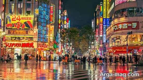 مناطق دیدنی ژاپن
