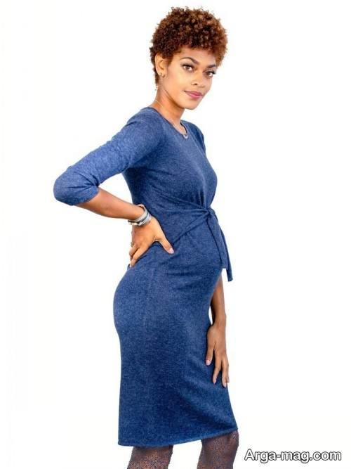 لباس بارداری آبی