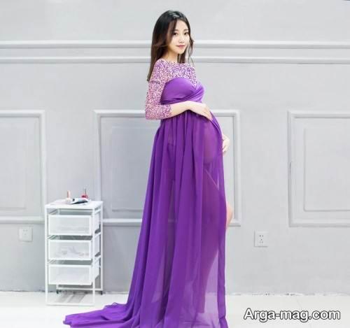 لباس حریر بارداری