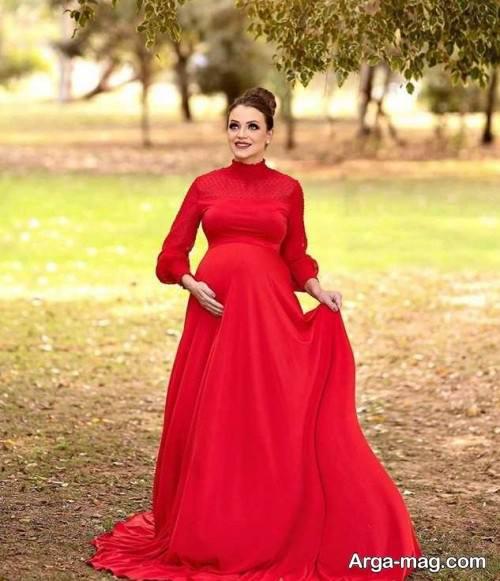 لباس بلند قرمز
