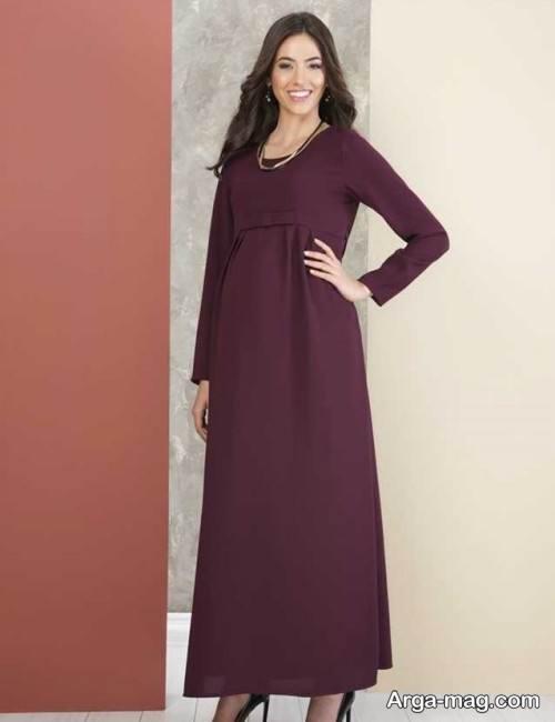 مدل لباس بارداری ۲۰۲۰ با استایل های جذاب برای ماه های مختلف بارداری