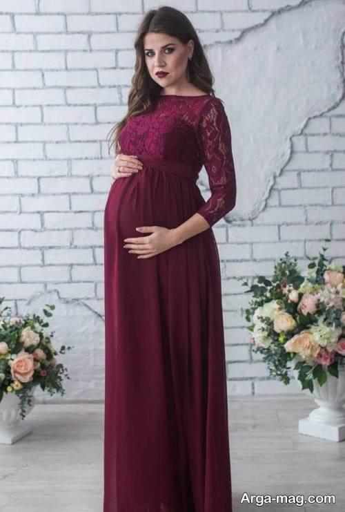 لباس آستین دار مخصوص بارداری