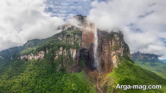 زیباترین آبشار دنیا آنجل