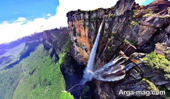 آبشار آنجل بلند ترین آبشار دنیا