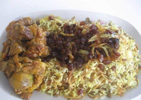 طرز تهیه پلو عربی