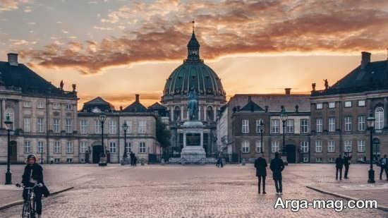 شهر کپنهاگ کجاست؟