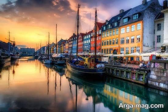 دیدنی های کپنهاگ کجا قرار دارد؟