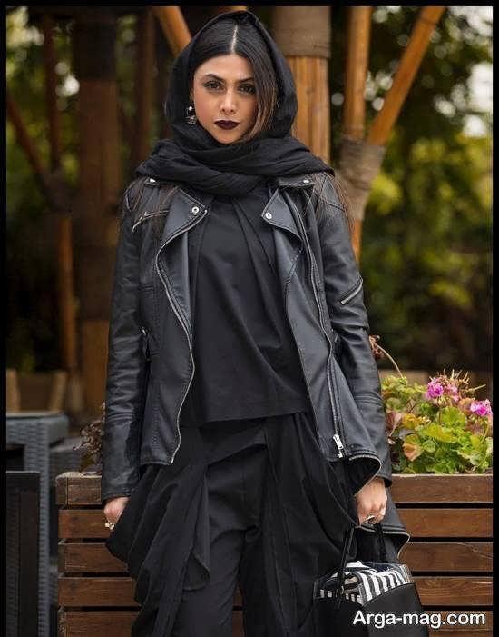 تصویر منتشر شده ی آزاده صمدی هنرپیشه مطرح در کافه ویونا