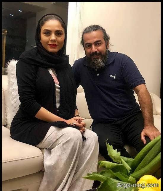 عکس های متفاوت آزاده زارعی بازیگر سریال «شاه رگ»