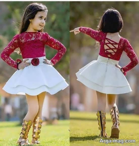 مدل زیبای پیراهن بچگانه برای مهمانی