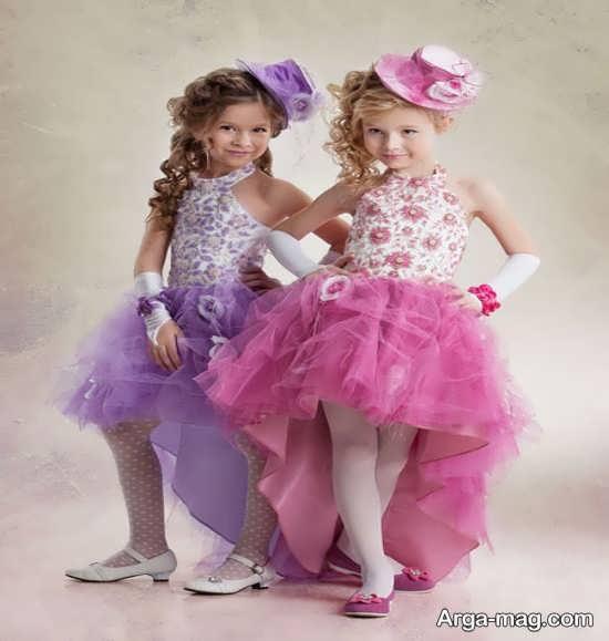 مدل لباسهای کودکانه مجلسی