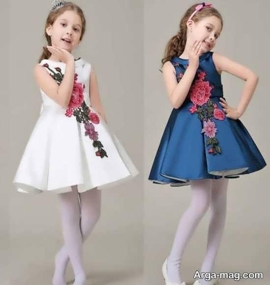 مدل لباس کودکانه با طراحی زیبا