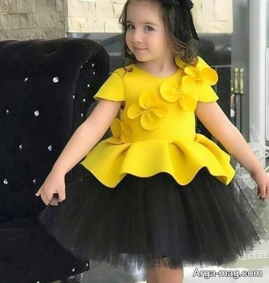 مدل لباس کودکانه شیک با طراحی زیبا