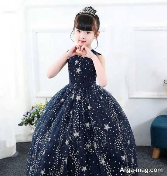 مدل لباس بچگانه مجلسی
