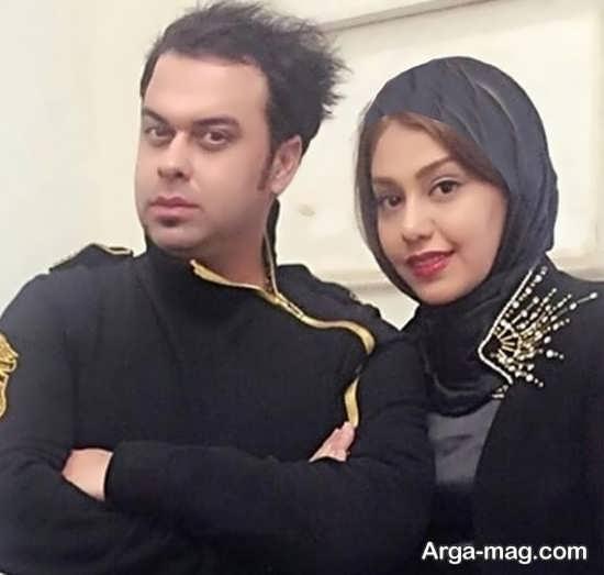 زندگینامه حامد پهلان و همسرش