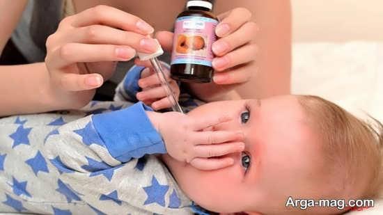 رفع سیاهی دندان اطفال با قطره آهن