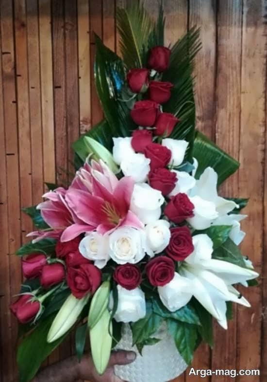 تزیینات دسته گل طبیعی
