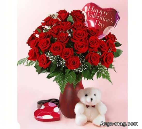 تزیین عاشقانه گل های زیبا