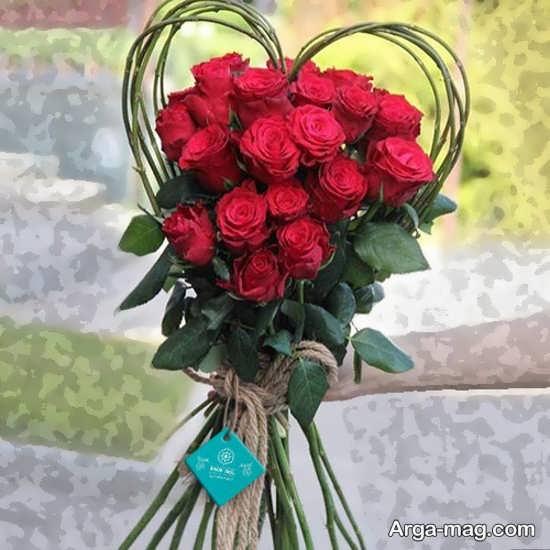 تزیین خاص گل های رز