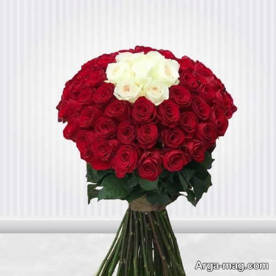 تزیین رمانتیک گل های رز