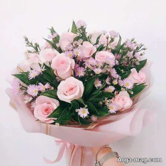 تزیین گل های رز زیبا