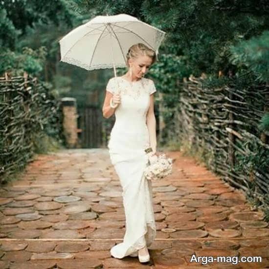 طرحی از چتر عروس