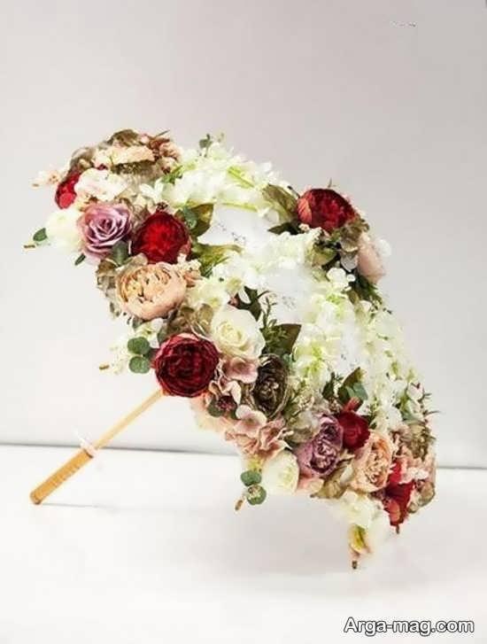 طرح جالب چتر عروس