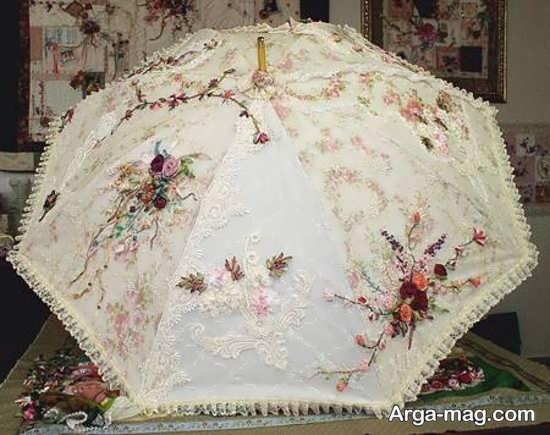 چتر عروس با طرح جذاب