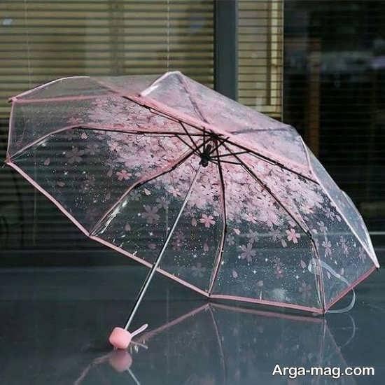 چتر عروس با طرح شیک