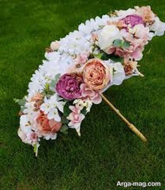 چتر عروس با طرح زیبا