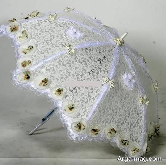 زیباترین مدلهای چتر عروس