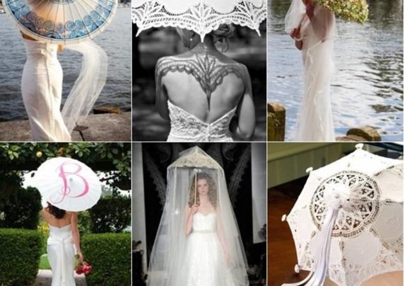 مدل چتر عروس
