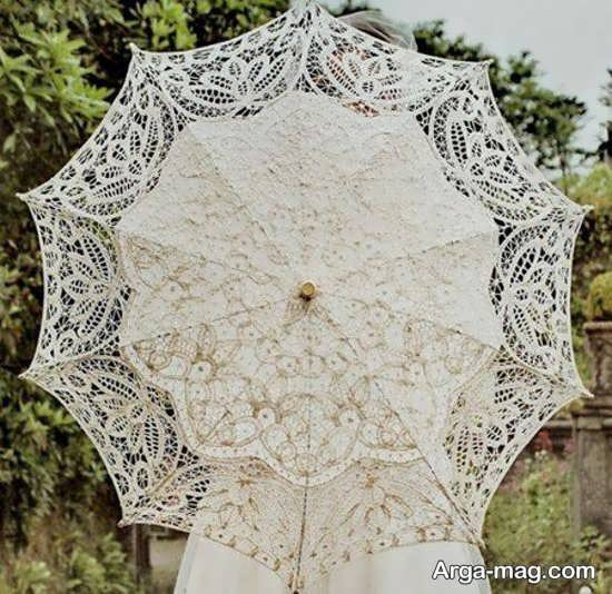 چتر عروس با طرح زیبا+عکس