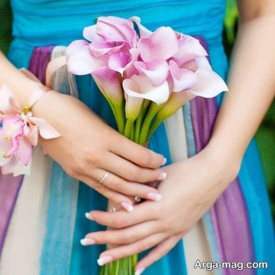 دسته گل عروس خاص و جذاب