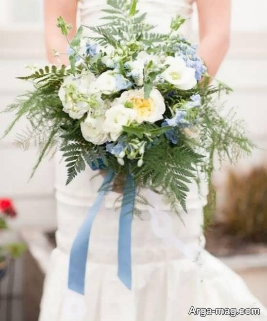 دسته گل عروس زیبا و دلپسند