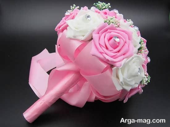 دسته گل عروس با جدیدترین تزئینات
