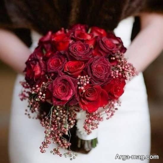 تزیینات شیک دسته گل عروس