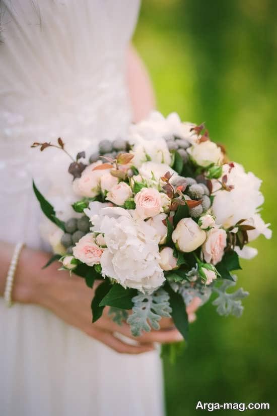 زیباترین مدل دسته گل عروس