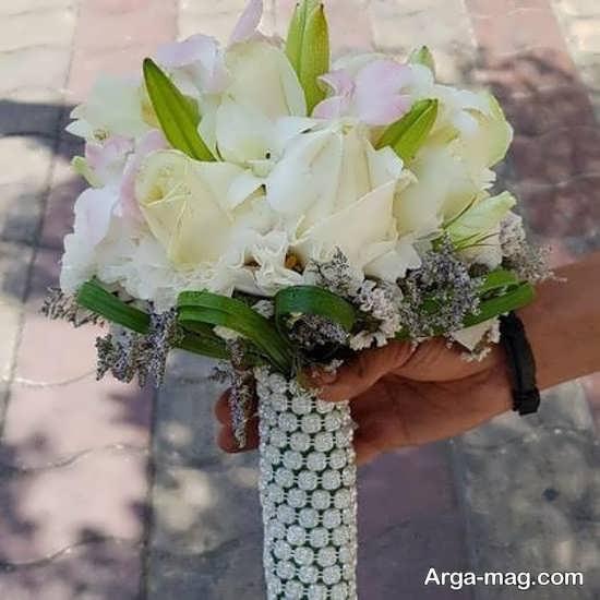 دسته گل عروس لوکس و جدید